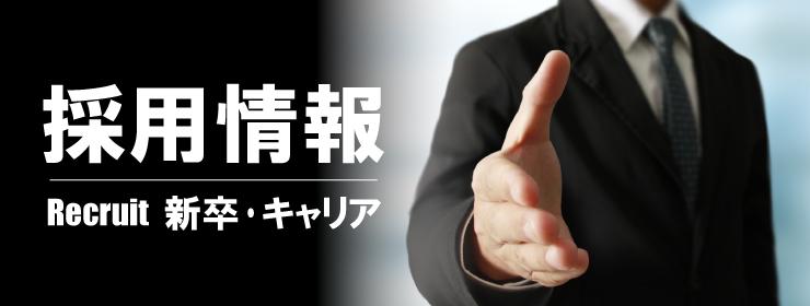 【ボタン】採用情報 新卒・キャリアページへ