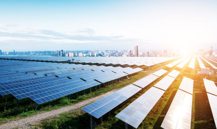 クリーンエネルギー(太陽光パネル等) イメージ写真