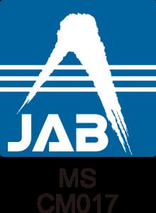 JAB認定シンボル