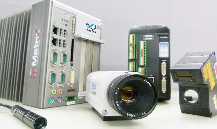各種外観等検査装置 使用機器一覧写真